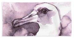 Laysan Albatross Beach Towel