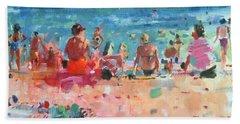 Lazy Sunny Afternoon Beach Towel