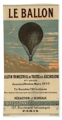 Le Balloon Journal Beach Sheet