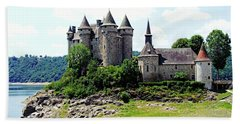Beach Towel featuring the photograph Le Chateau De Val - France by Joseph Hendrix