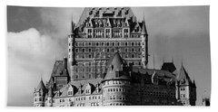 Le Chateau Frontenac - Quebec City Beach Towel