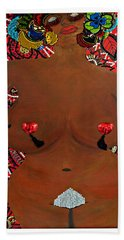 Le Grande Madame Beach Towel