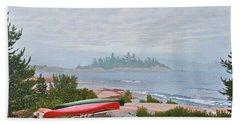 Le Hayes Island Beach Sheet by Kenneth M Kirsch