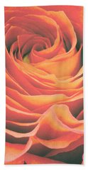Le Petale De Rose Beach Towel