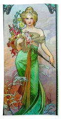 Le Printemps C1895 Beach Towel