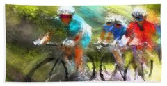 Le Tour De France 11 Beach Towel