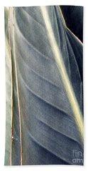 Leaf Abstract 14 Beach Sheet by Sarah Loft