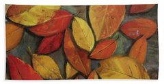 Leaf Collection Beach Towel