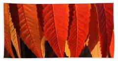 Leafy Valance Beach Sheet