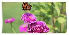 Leaping Butterfly Beach Sheet