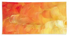 Leaps Of Faith Painting Beach Towel