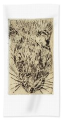 Learning To Love Rats More #2 Beach Towel