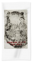 Learning To Love Rats More #3 Beach Towel
