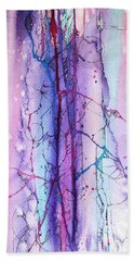 Learning To Weather The Storm Beach Towel by Rebecca Davis