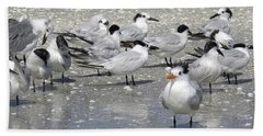 Least Terns Beach Towel