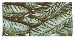 Leaves No. 3-1 Beach Towel