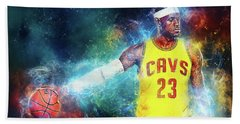 Lebron James Beach Sheet