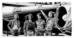 Led Zeppelin Collection. Beach Towel by Marvin Blaine