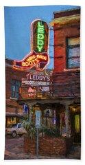 Leddy's Boots Beach Towel