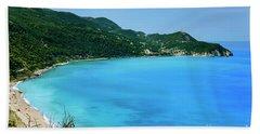 Lefkada, Greece Beach Towel