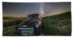 Beach Towel featuring the photograph Left To Rust by Aaron J Groen