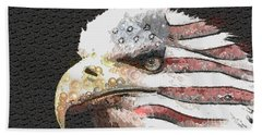 Legally Unlimited Eagle Beach Towel