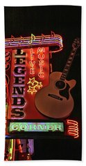 Legend's Corner # 2 - Nashville Beach Towel