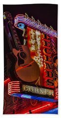 Legends Corner Nashville Beach Towel