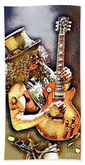 Legends Of Rock - Slash - Sweet Child Beach Towel