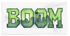 Legion Of Boom Beach Sheet by Olga Shvartsur