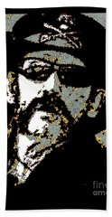 Lemmy K Beach Towel