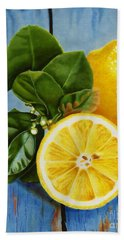 Lemon Fresh Beach Towel