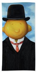 Lemon Head Pro Image Beach Towel