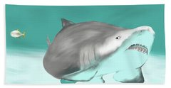 Lemon Shark Beach Towel