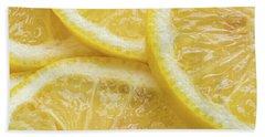 Lemon Slices Number 3 Beach Towel