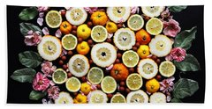 Lemonade Vibes Beach Sheet