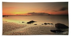 Lendalfoot Sunset Ref8962 Beach Towel