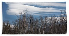 Lenticular Clouds - White Mountains New Hampshire  Beach Towel