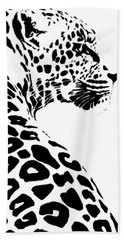 Leo-pard Beach Towel