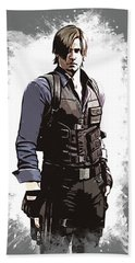 Leon S. Kennedy Beach Towel