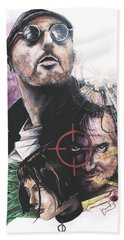Leon The Professional Beach Towel