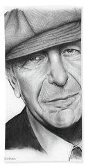 Leonard Cohen Beach Sheet