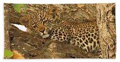 Leopard Cub Beach Sheet