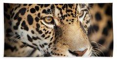 Leopard Face Beach Sheet
