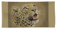 Leopard Tee Beach Towel