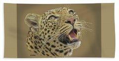 Leopard Tee Beach Sheet