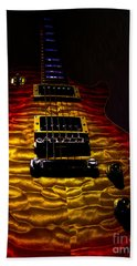 Guitar Custom Quilt Top Spotlight Series Beach Sheet
