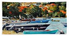 Les Saintes, French West Indies Beach Towel
