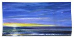 Less Drama Panoramic Sunset Beach Sheet