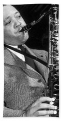 Lester Young  Beach Towel